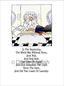 Greeting Card- Laundry