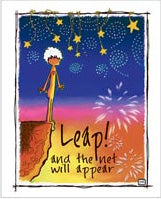 Greeting Card- Leap