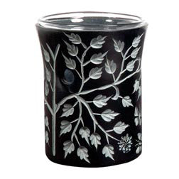 Aromatherapy Diffuser- Black Leaf Etched