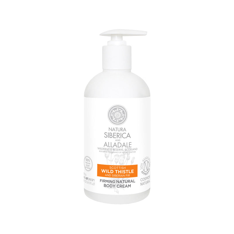 Alladale Firming Natural Body Cream Pump, 500 ml