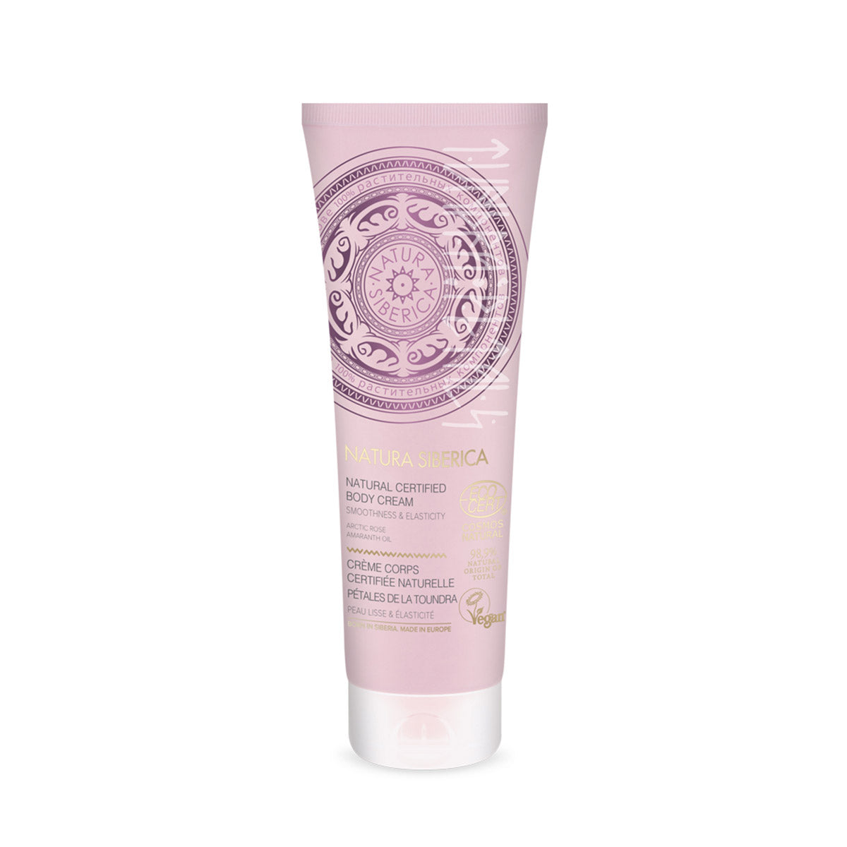 Tundra Petals Natural Certified Body Cream, 200 ml