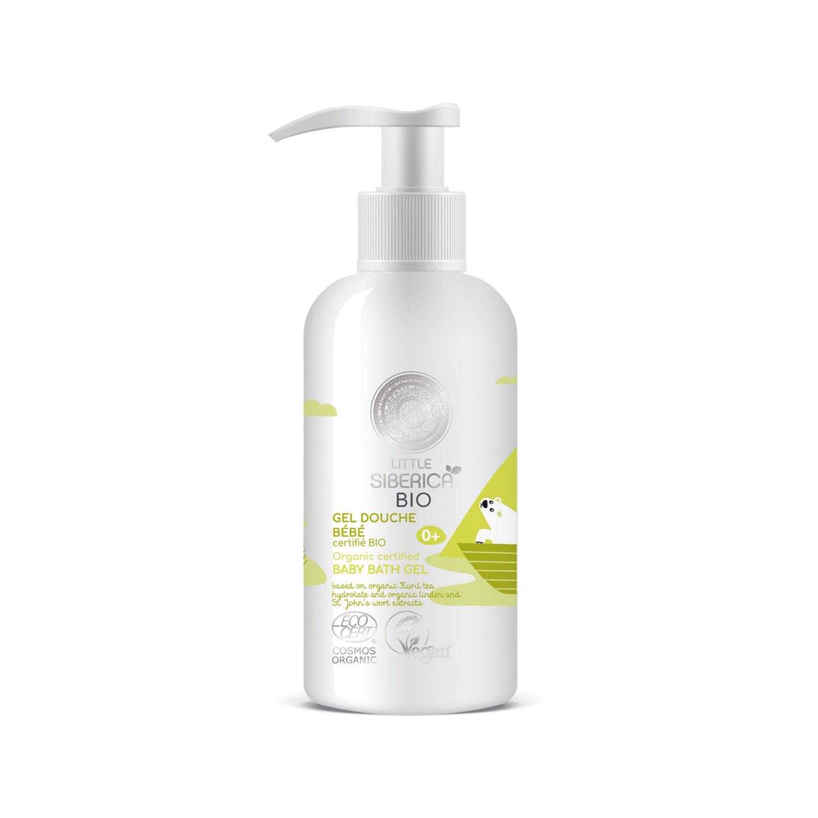Baby bath gel, 250 ml
