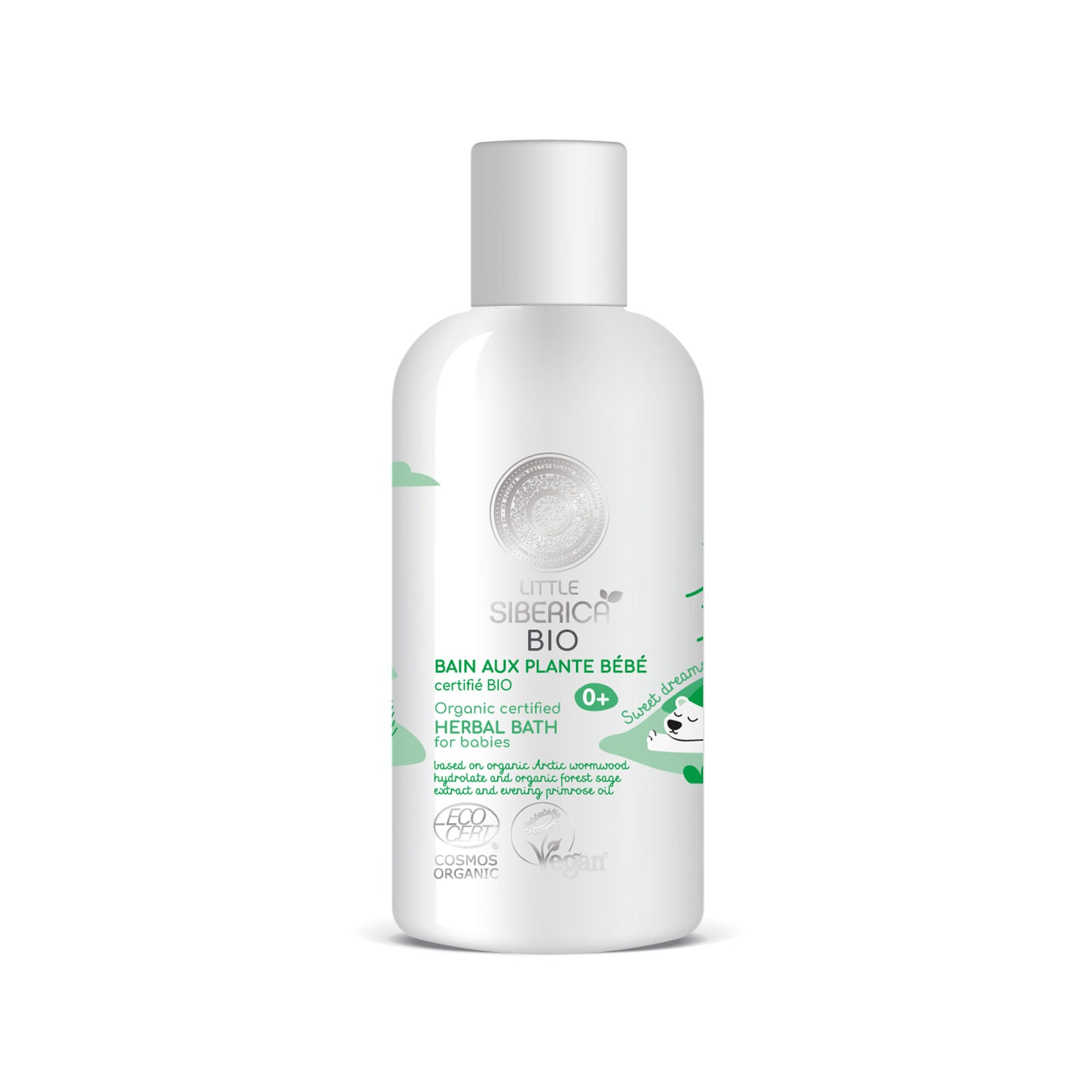 Herbal bath for babies, 250 ml