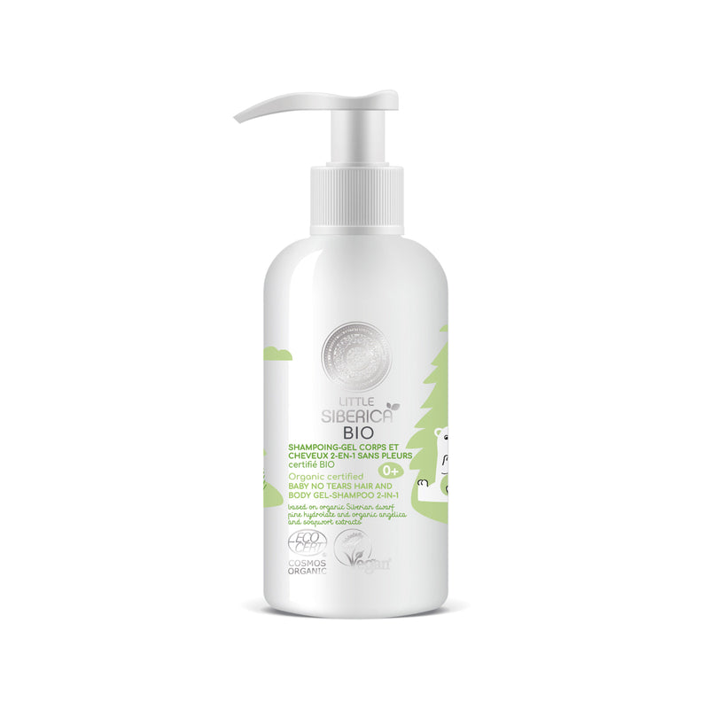 Baby No Tears hair and body gel-shampoo 2-in-1, 250 ml
