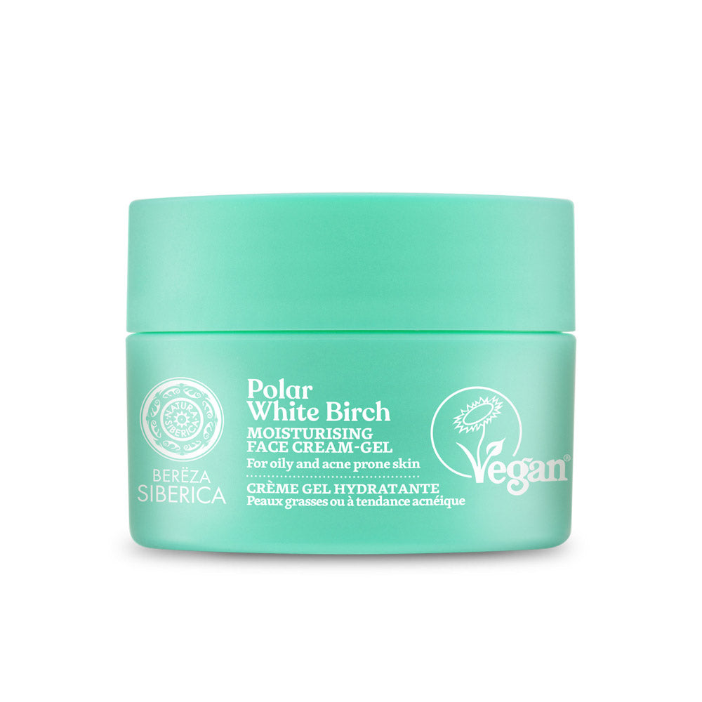 Polar White Birch Moisturizing Face Cream-Gel, for oily & acne prone skin 50 ml