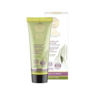 Nourishing and Moisturizing Daily Foot Cream, 75 ml