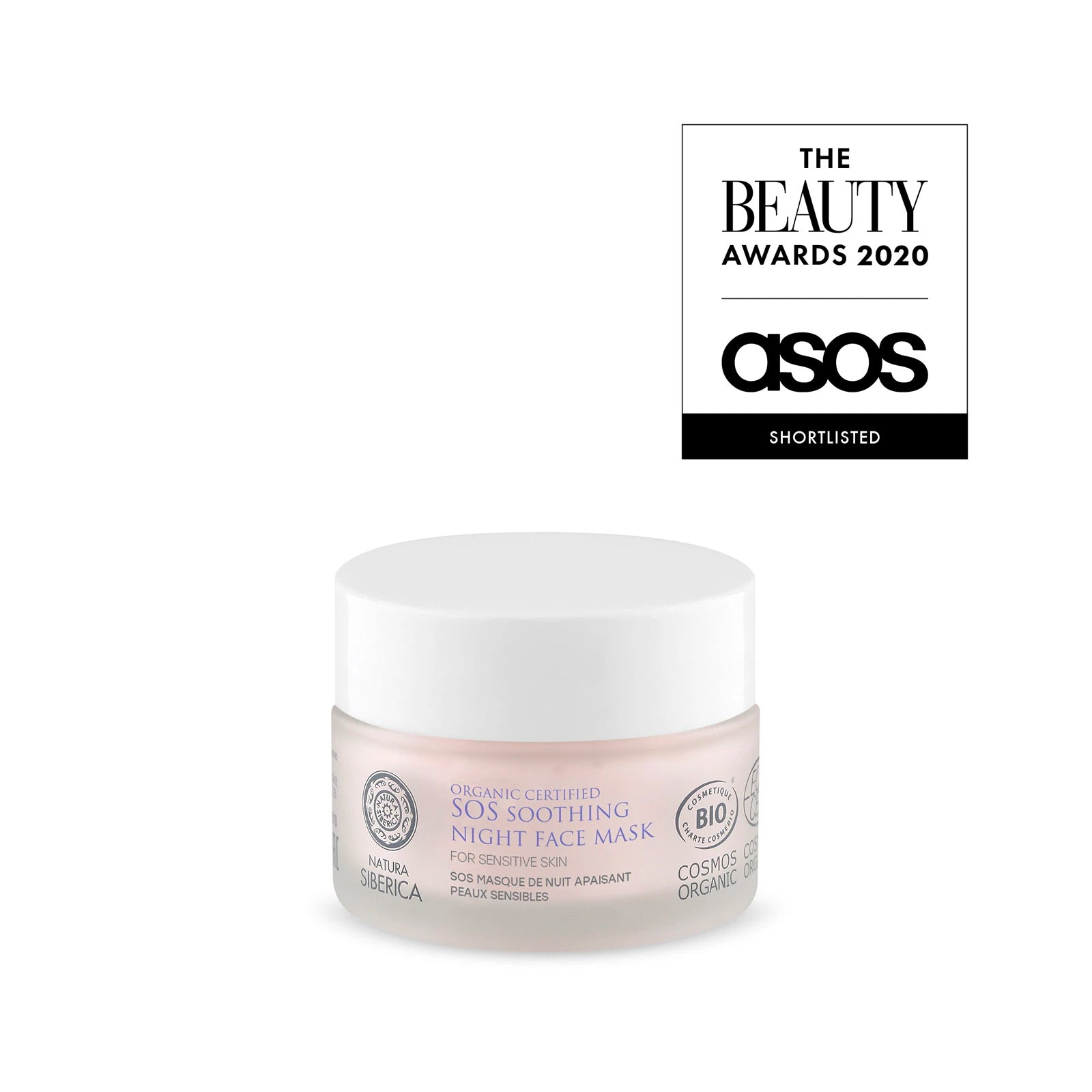 SOS Soothing Night Face Mask for sensitive skin, 50 ml