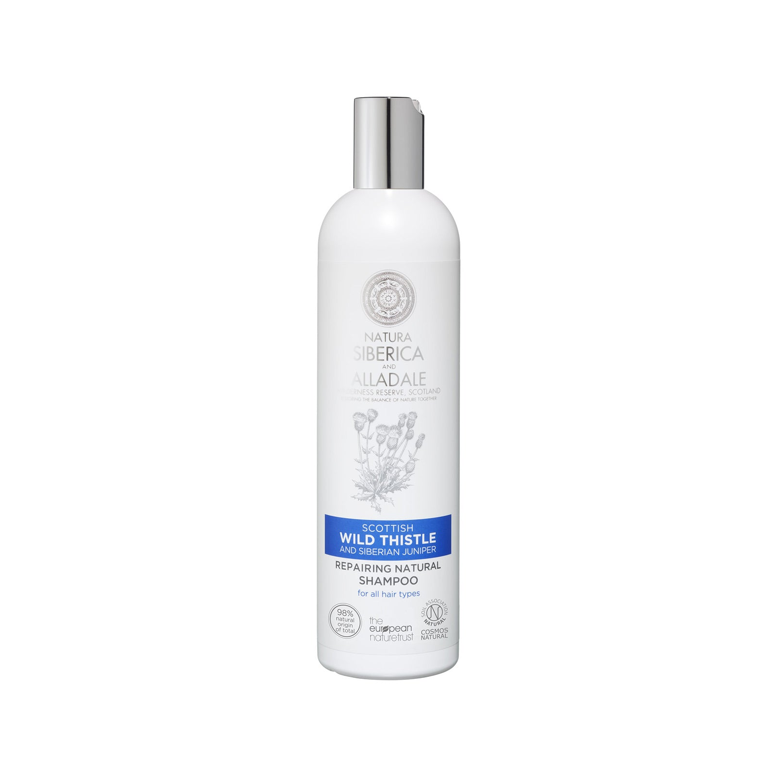 Alladale Repairing Natural Shampoo, 400 ml