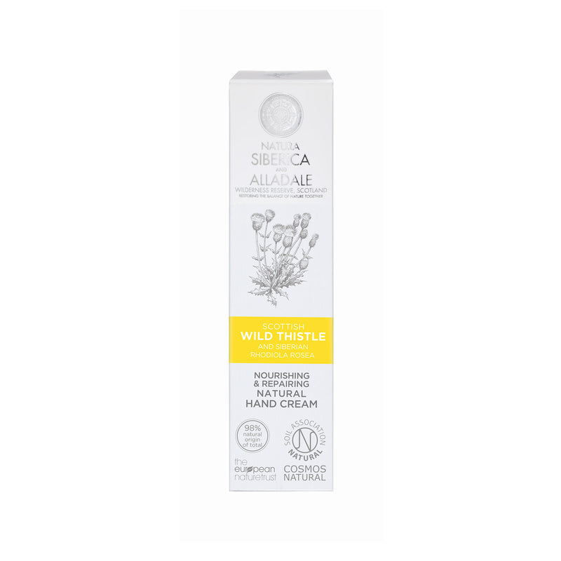 Alladale Nourishing and Repairing Natural Hand Cream, 75 ml