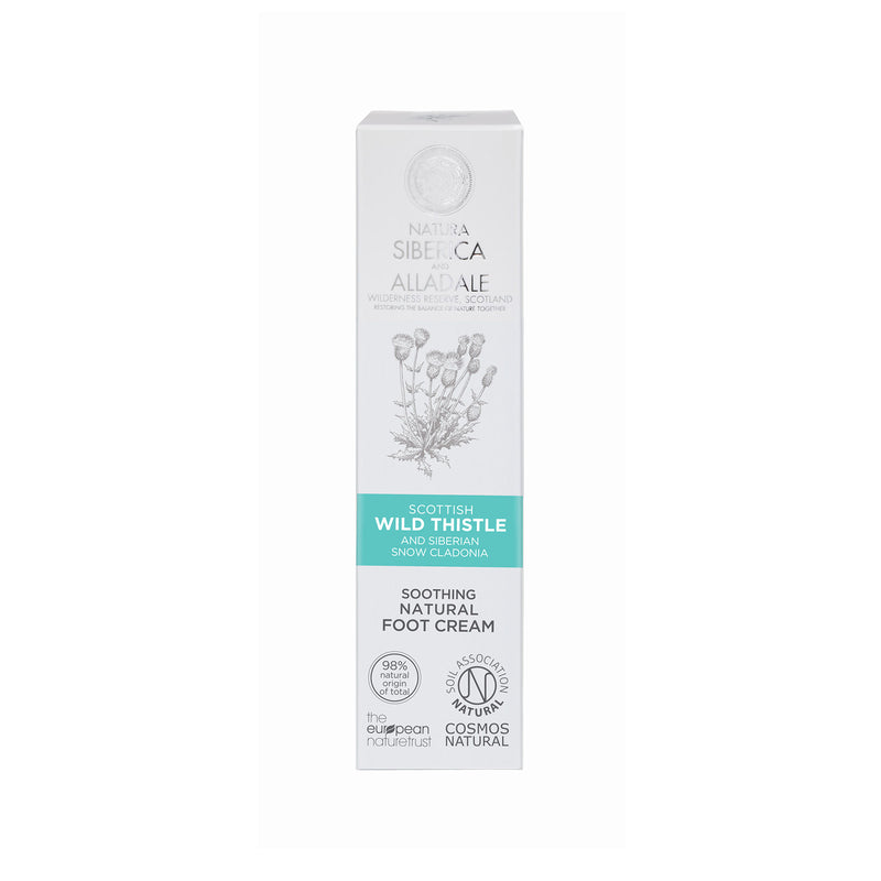 Alladale Soothing Natural Foot Cream, 75 ml