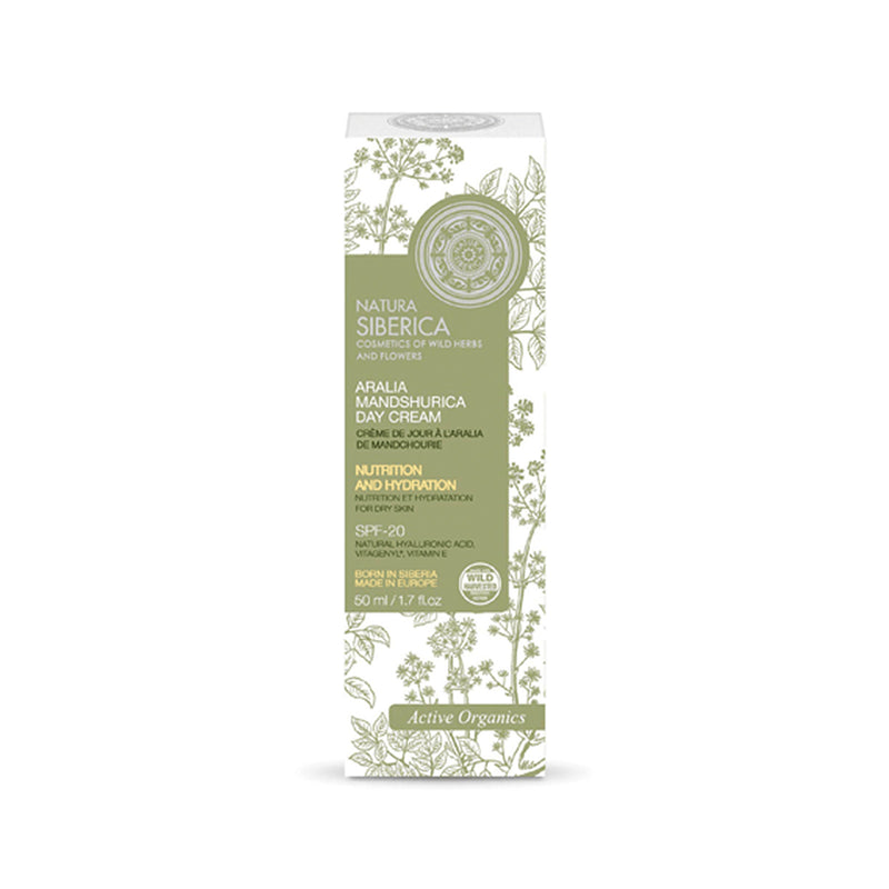 Aralia Mandshurica Day Cream, Dry Skin, 50 ml