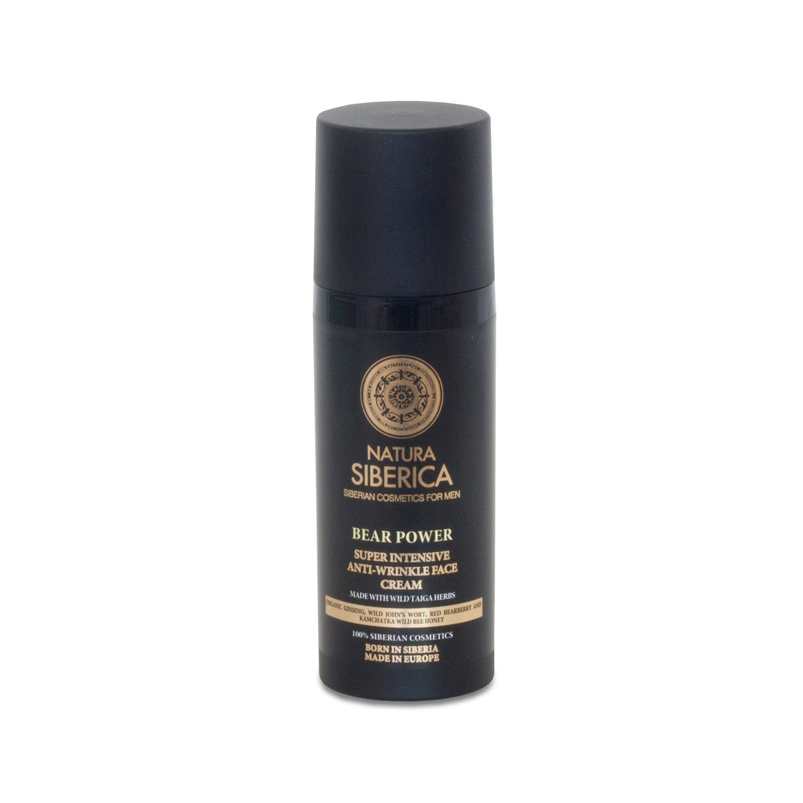 Super Intensive Anti-wrinkle Face Cream Bear Power, 50 ml