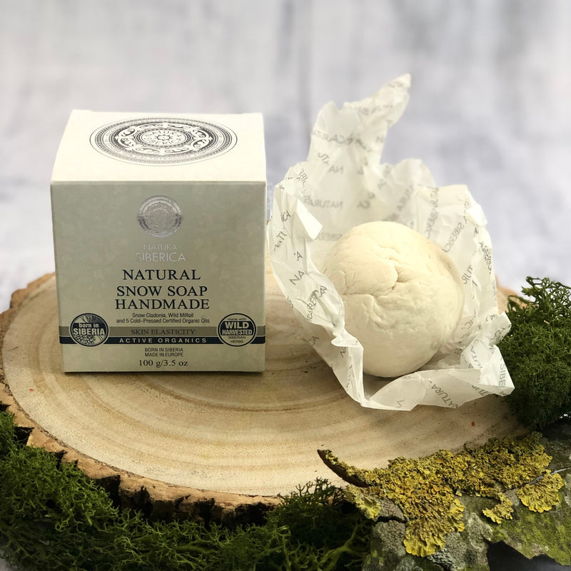 Handmade Natural Snow Soap, 100 g