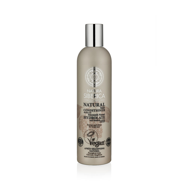 Energy and Shine Conditioner. For weak hair, 400 ml