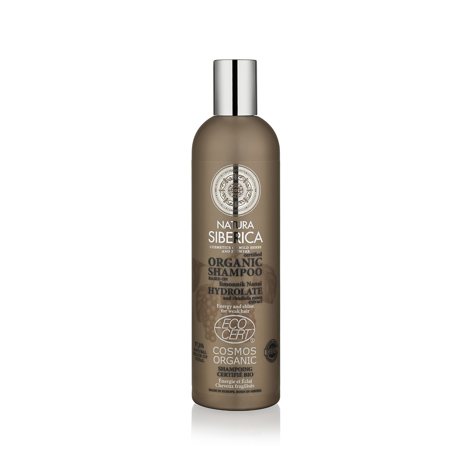 Energy and Shine Shampoo. For weak hair, 400 ml