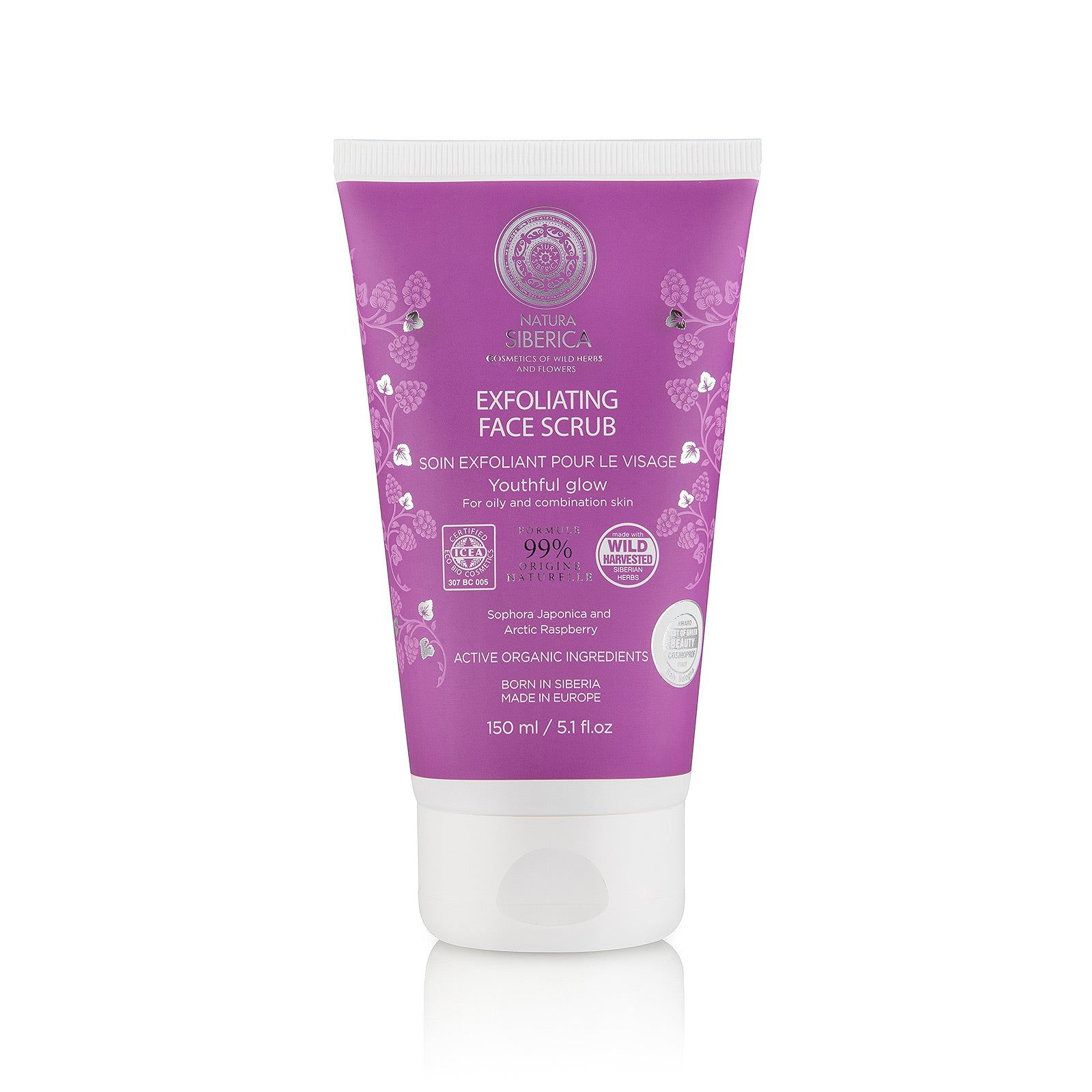 Exfoliating Face Scrub, 150 ml