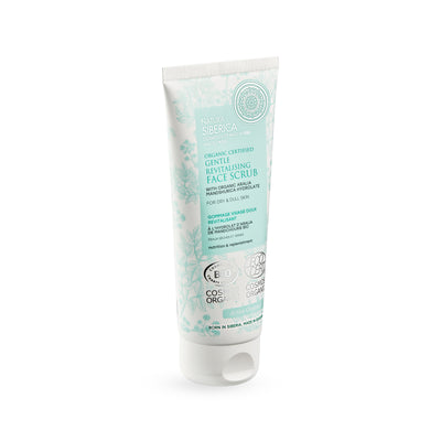 Gentle Revitalising Face Scrub for dry & dull skin, 100 ml