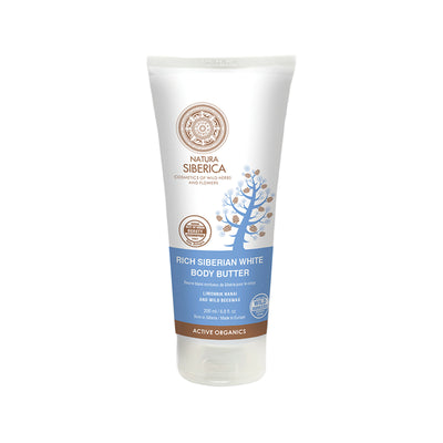Rich Siberian White Body Butter, 200 ml