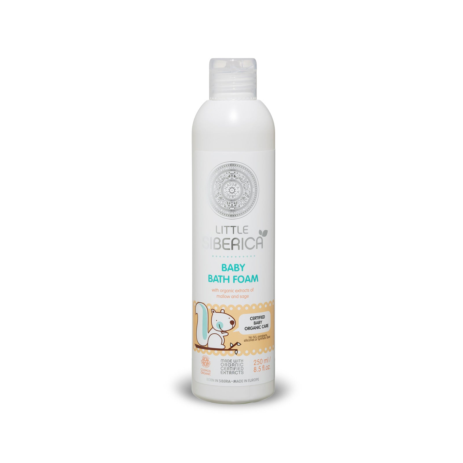 Little Siberica Baby Bath Foam, 250ml