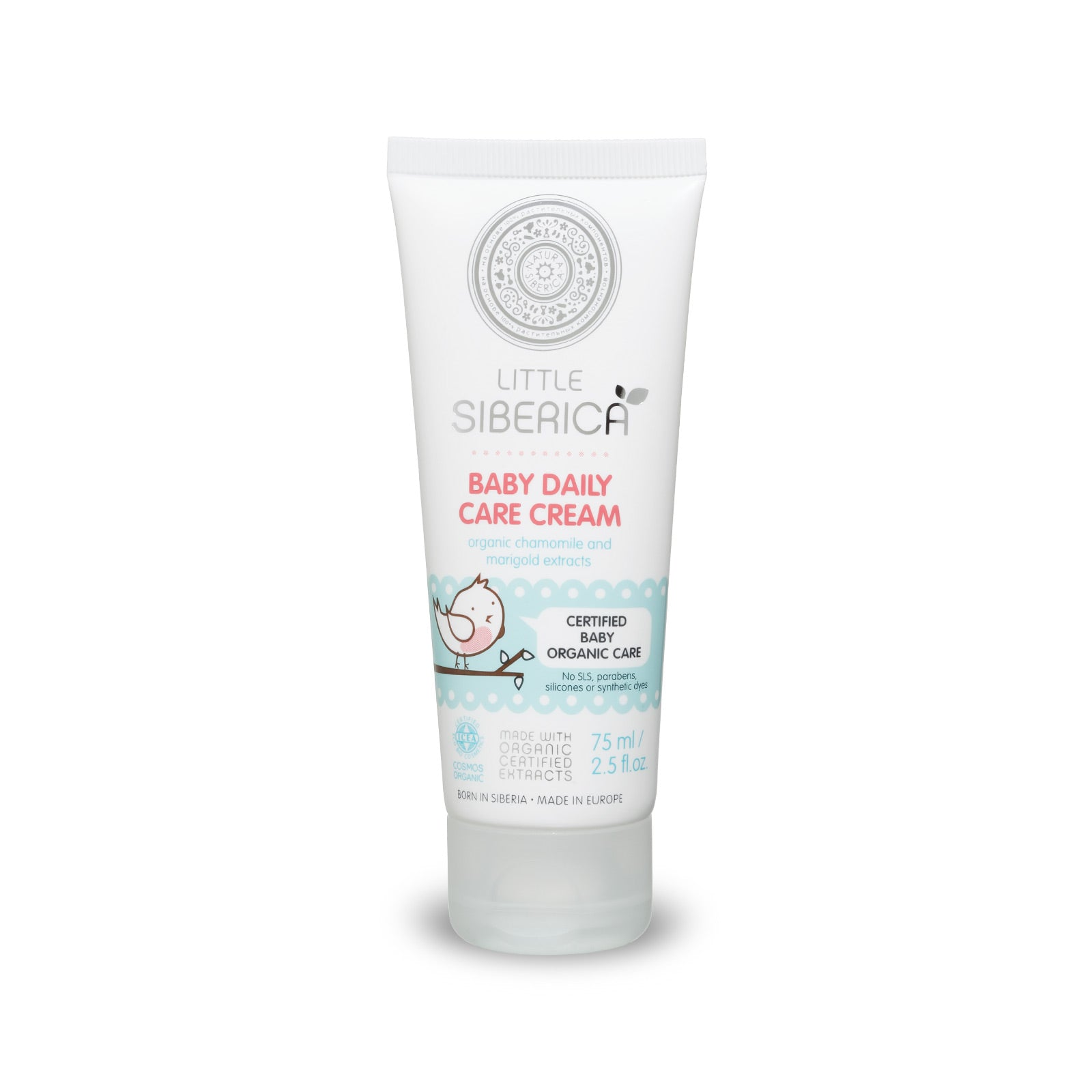 Little Siberica Baby Daily Care Cream, 75 ml