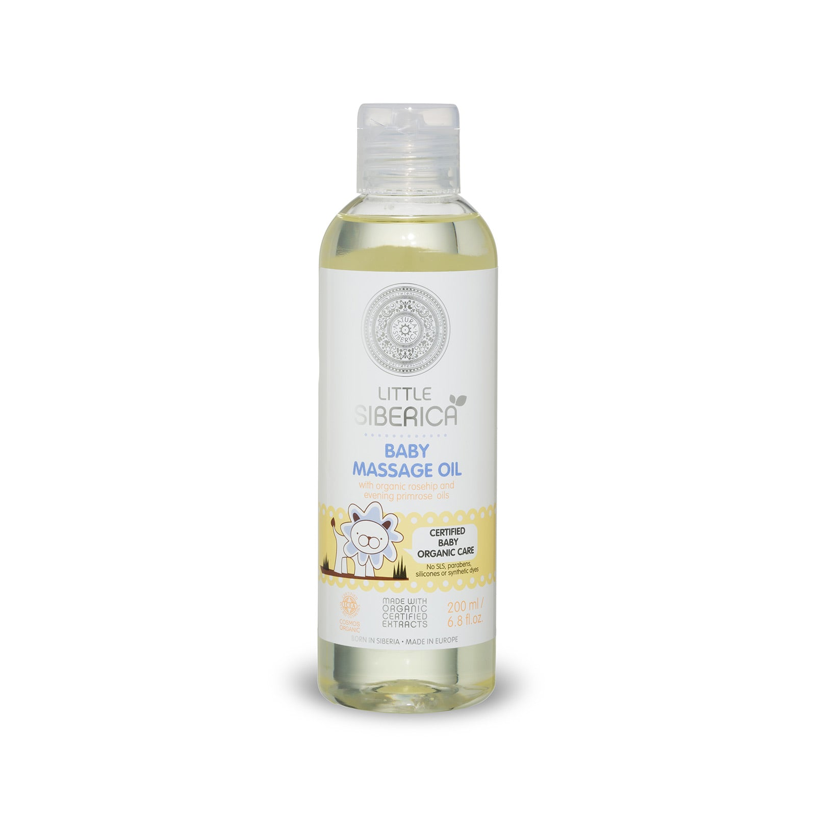 Little Siberica Baby Massage Oil, 200ml