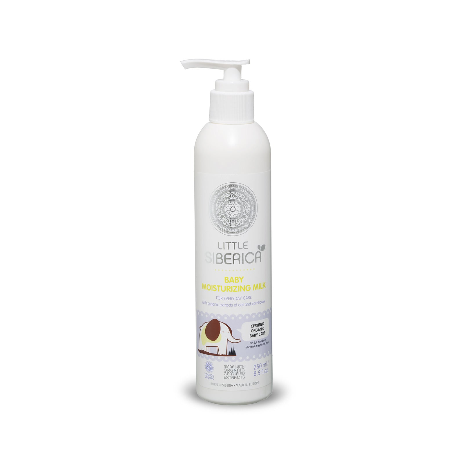 Little Siberica Baby Moisturizing Milk, 250ml
