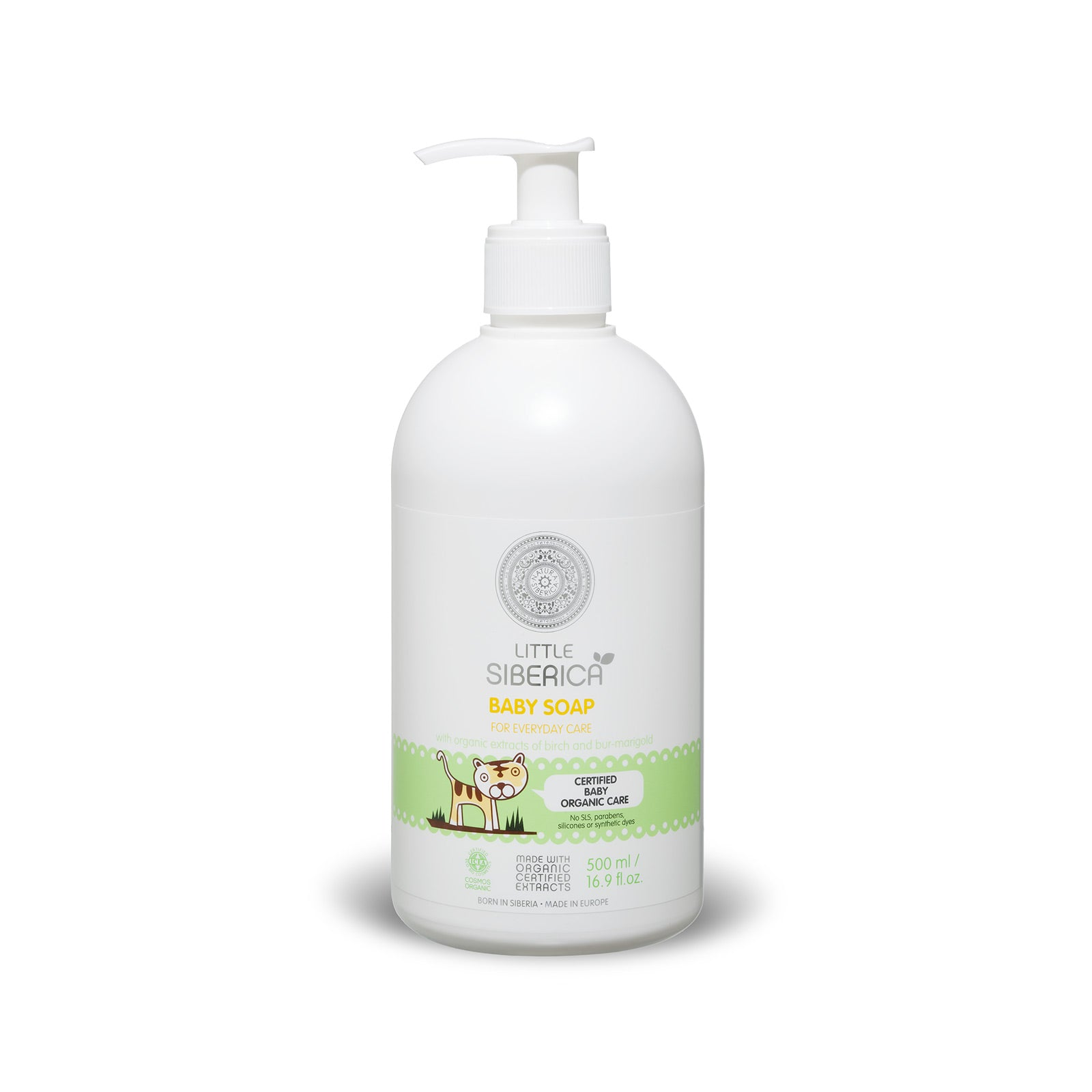 Little Siberica Baby Soap for every day care, 500ml