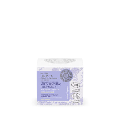 Mild Reviving Jelly-Scrub for sensitive skin, 50 ml