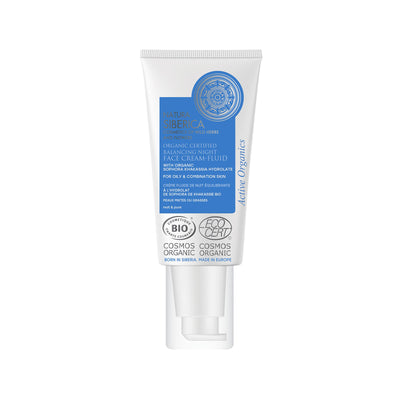 Balancing Night Face Cream-Fluid for oily & combination skin, 50 ml