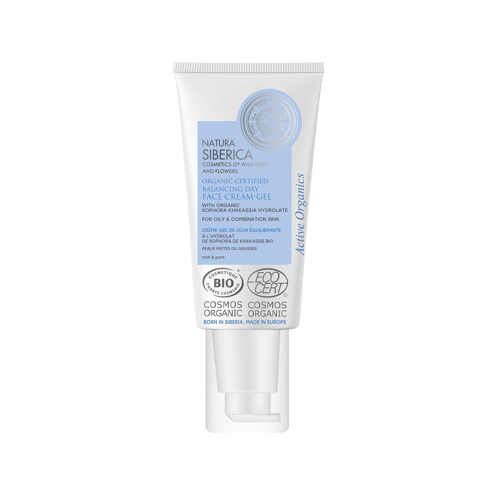Balancing Face Cream-Gel for oily & combination skin, 50 ml