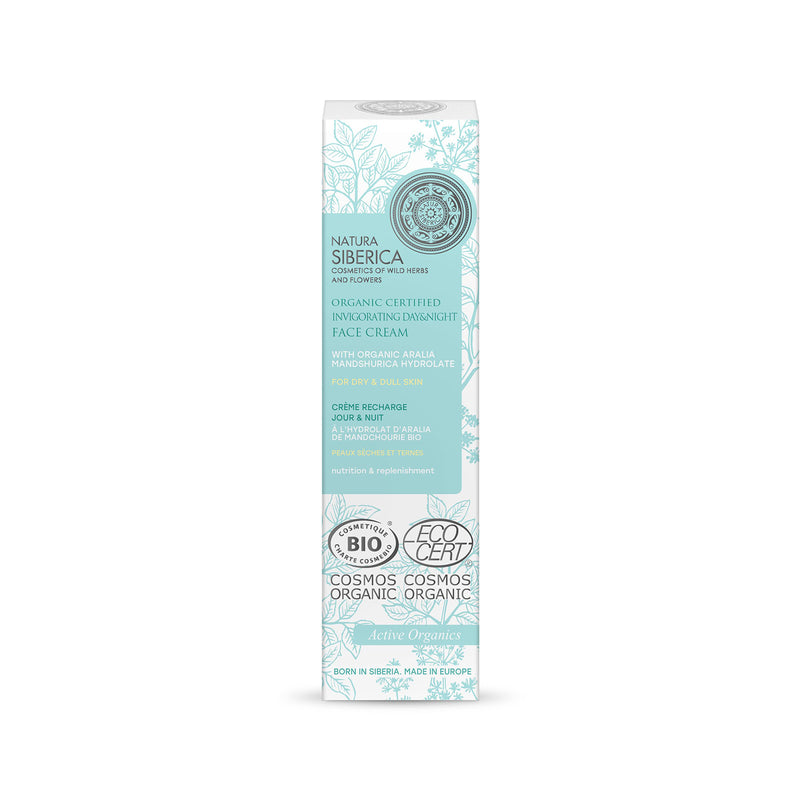 Invigorating Face Day & Night Cream for dry & dull skin, 50 ml