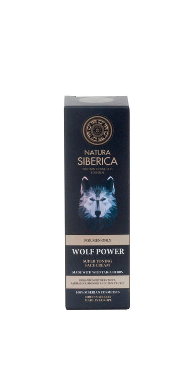 Super Toning Face Cream Wolf Power, 50 ml