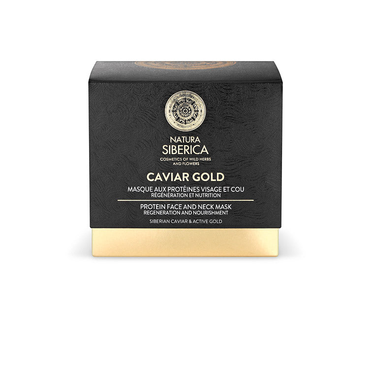 Caviar Gold Protein Face and Neck Mask, 50 ml