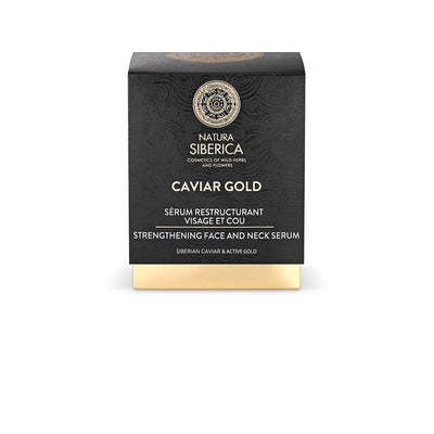Caviar Gold Strengthening Face And Neck Serum, 30 ml