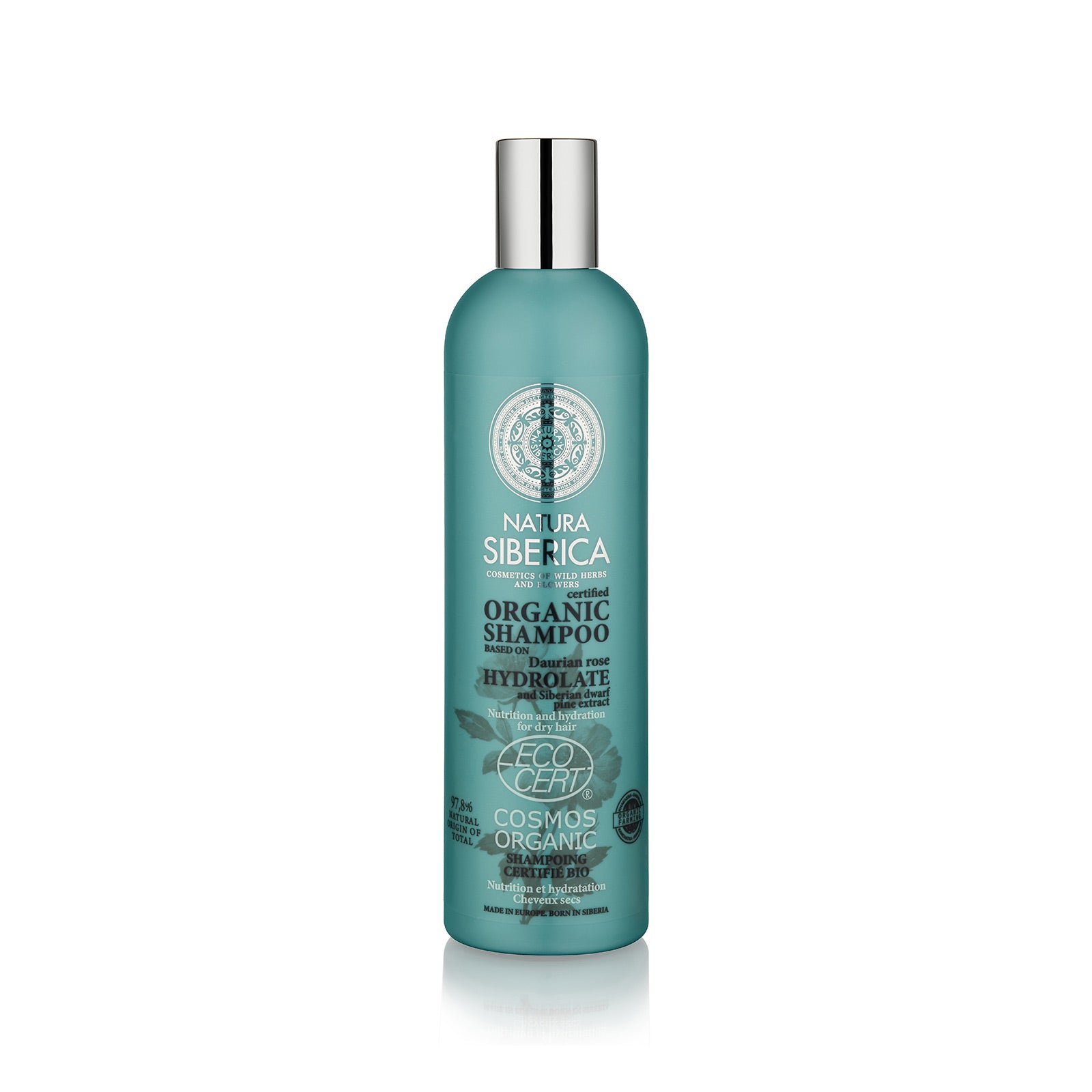 Nutrition and Hydration Shampoo. For dry hair, 400 ml