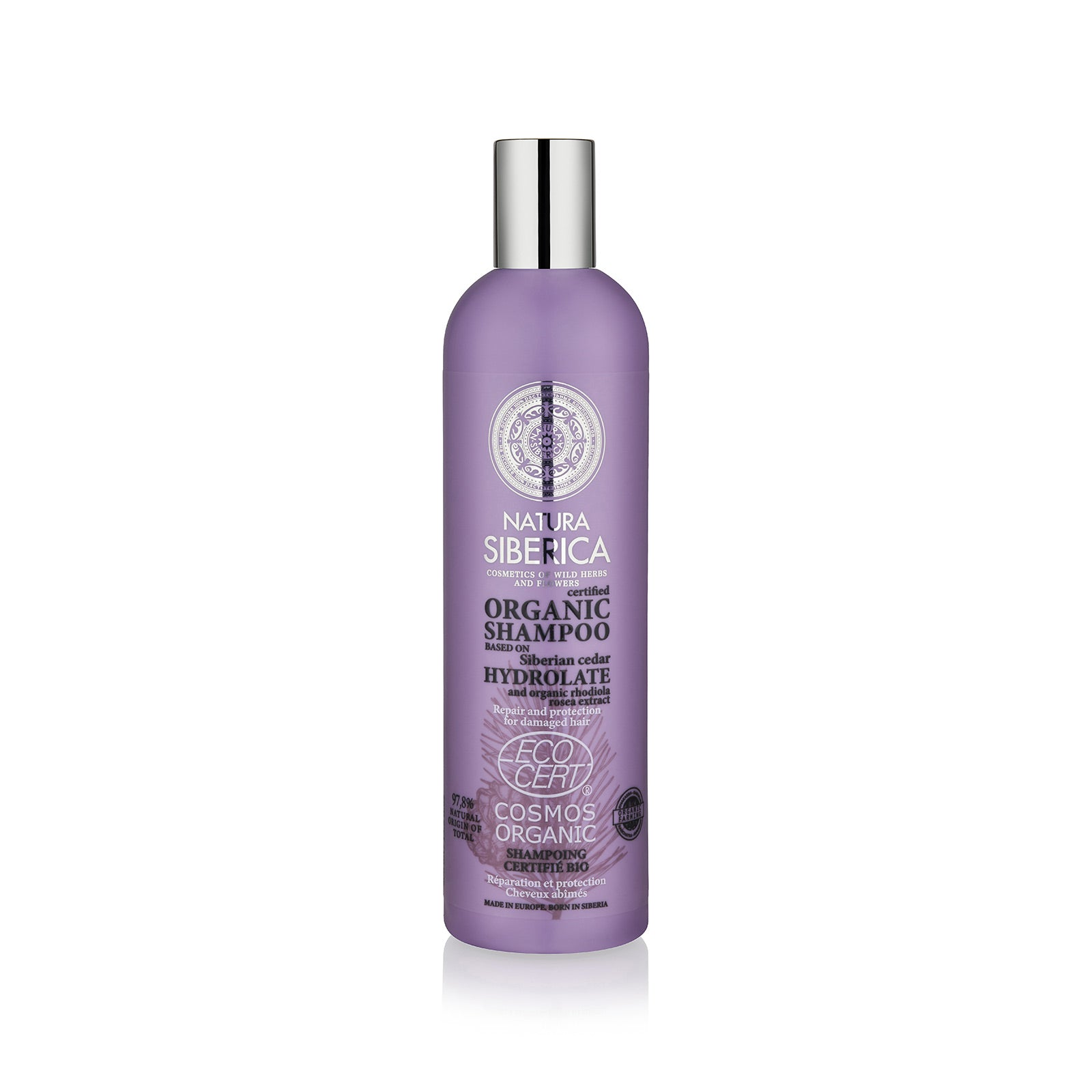 Repair and Protection Shampoo. For damaged hair, 400 ml