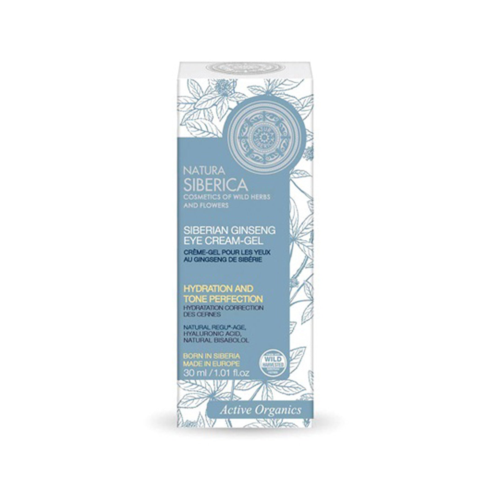 Siberian Ginseng Eye Cream Gel, Anti-Puffiness, 30 ml