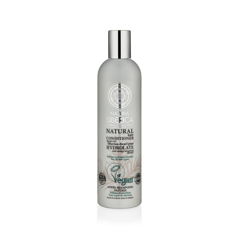 Volume and Nourishment Conditioner. For all hair types, 400 ml