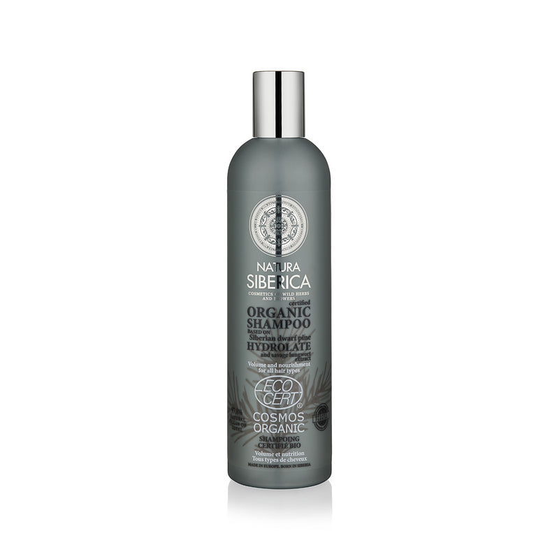 Volume and Nourishment Shampoo. For all hair types, 400 ml