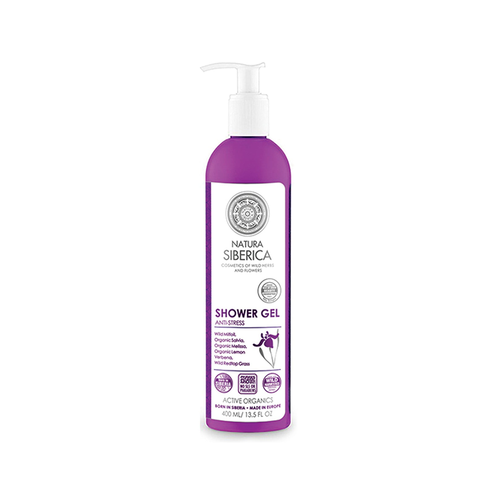 Anti-Stress Shower Gel, 400 ml