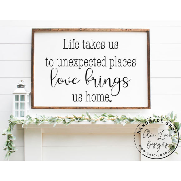Life takes us to unexpected places - Chic Loco Designs