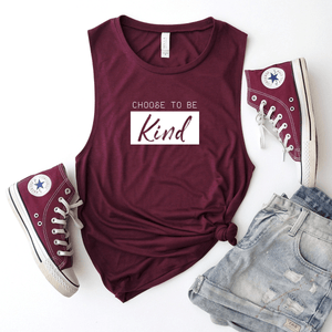 Choose To Be Kind - Bella+Canvas Tank Top