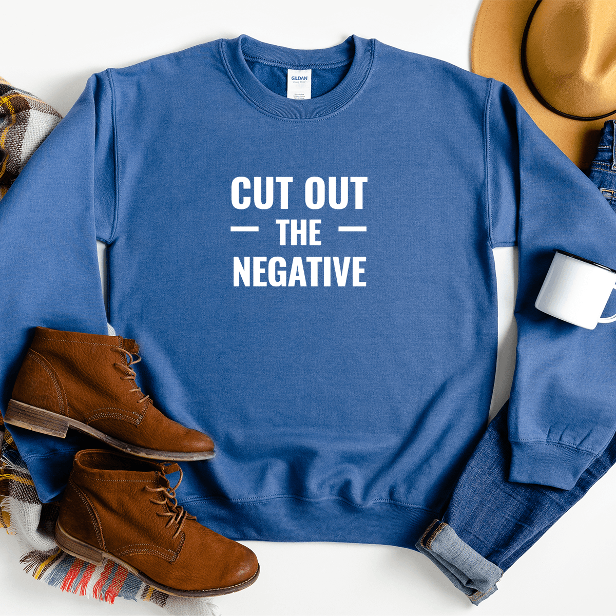 Cut Out The Negative - Sweatshirt