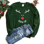 Glow-Up (Reindeer) - Sweatshirt