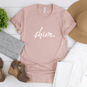 Shine - Bella+Canvas Tee