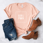 Girl Power - Bella+Canvas Tee