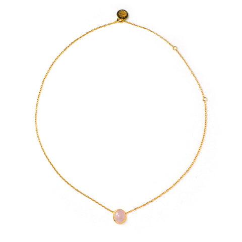 One Necklace: Morganite