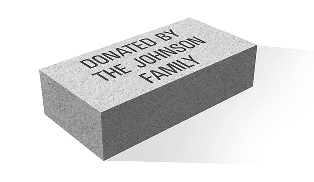 Family Granite Paver