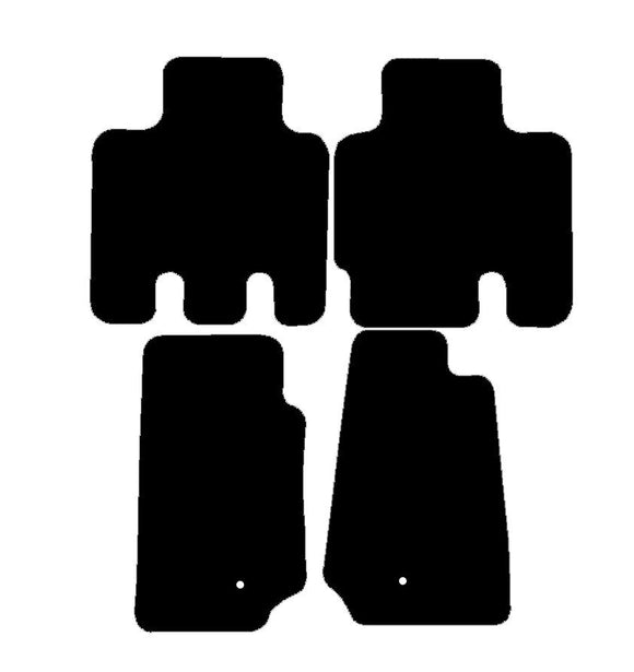 Buy new Chrysler Jeep Wrangler 4 Door 2007-Present Car Mats online.