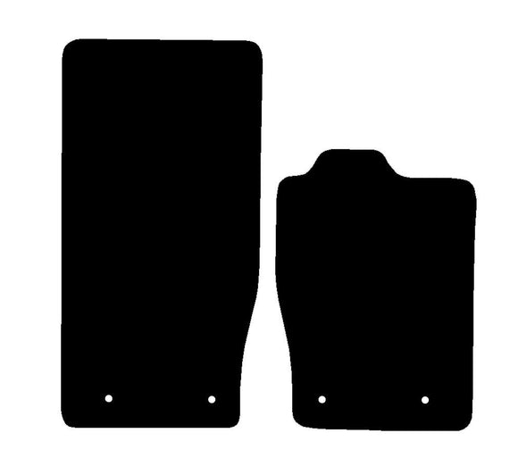 Buy new Jaguar Xk (X150) 2006-Present 2 Piece Set Car Mats online.